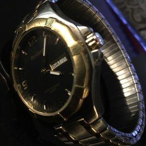 Armitron Two-Tone Stainless Steel Analog Watch